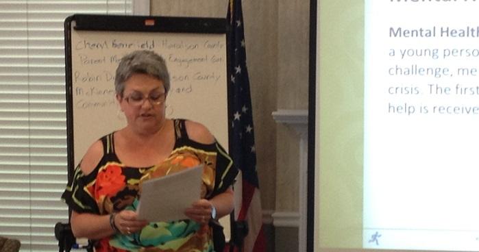 Cheryl Benefield teaching