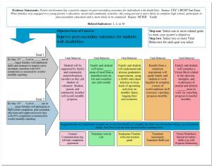 Evidence statement chart