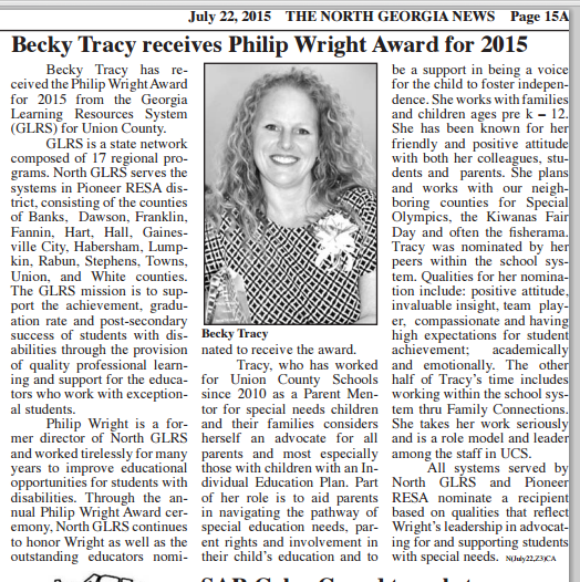 Becky Tracy article Document