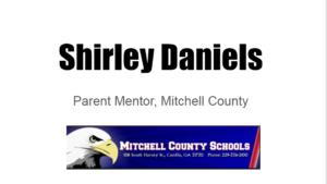 Shirley Daniels, parent mentor