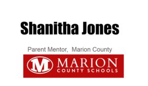 Shanitha Jones, parent mentor
