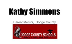 Kathy Simmons, parent mentor