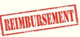 the word reimbursement is written in red