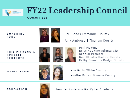 FY22 Leadership Council Committees